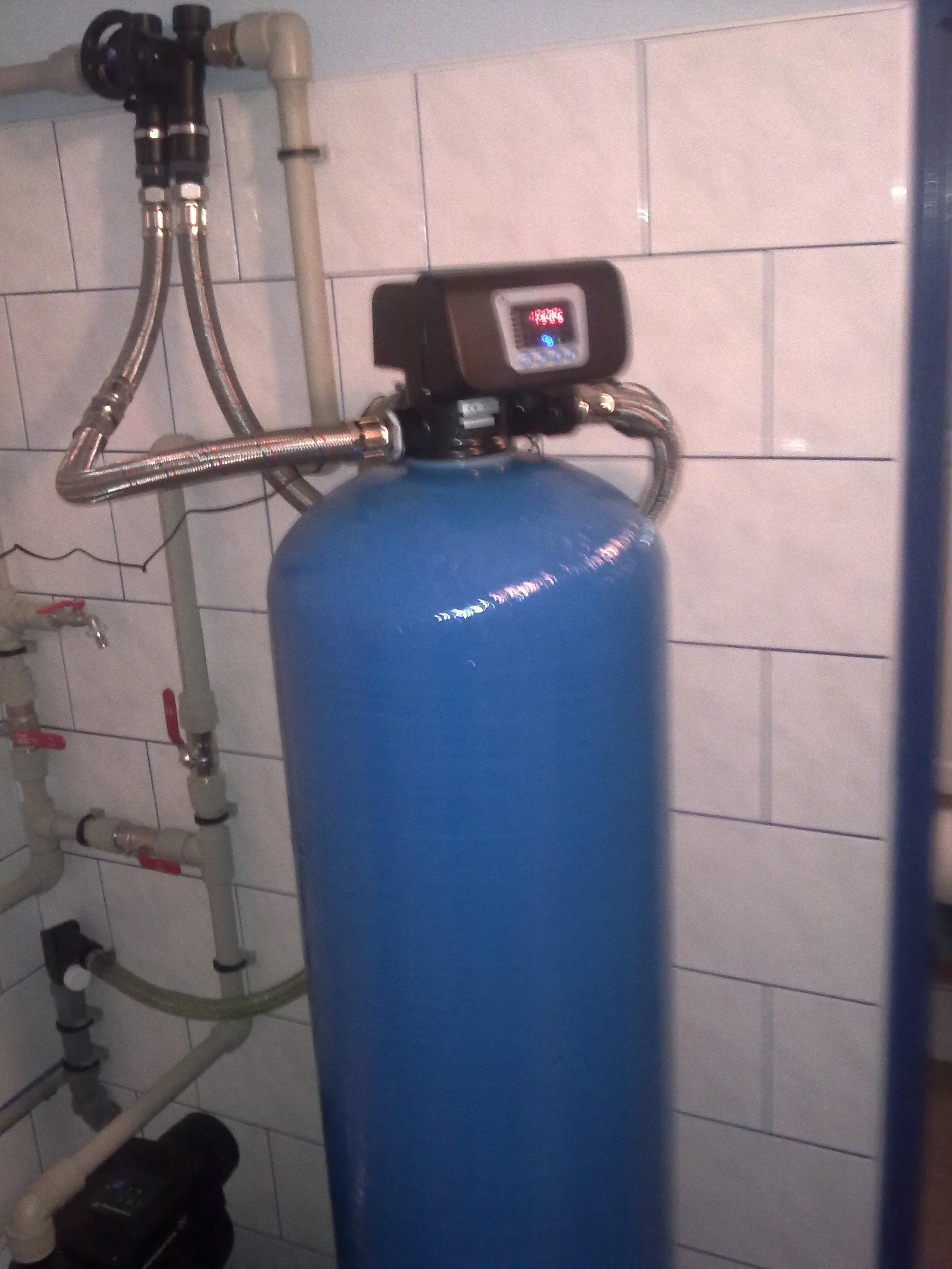 Odželezňovací stanice na rozvod vody